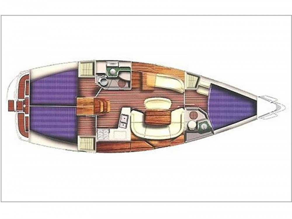 Rental Sailboat in Laurium - Jeanneau Sun Odyssey 40.3