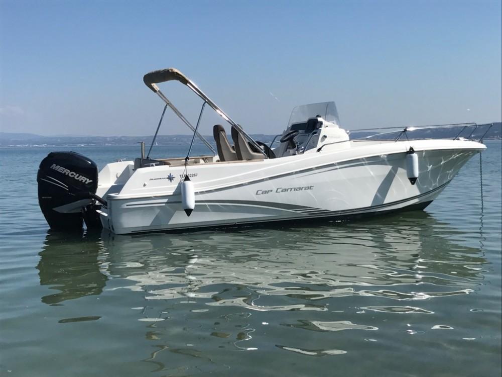 Boat rental Port-de-Bouc cheap Cap Camarat 7.5 CC Style
