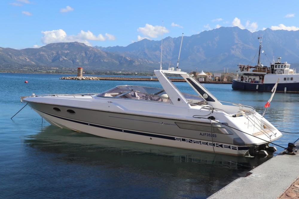 Verhuur Motorboot in Calvi - Sunseeker Tomahawk 37