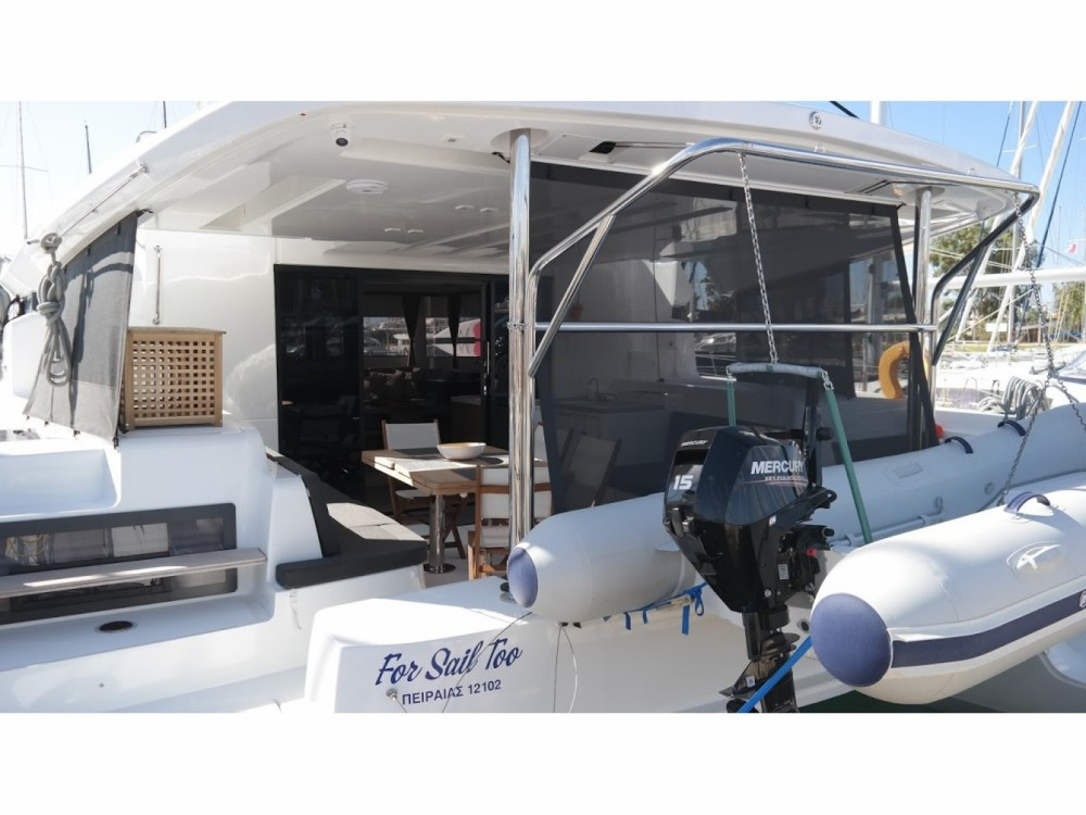 Rental yacht Greece - Lagoon Lagoon 450F on SamBoat