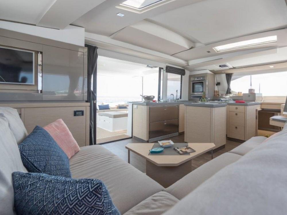 Boat rental Marina de Alimos cheap Saona 47 - 5 cabin version