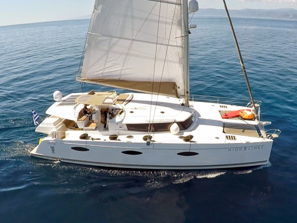 Rental yacht Marina de Alimos - Fountaine Pajot Sanya 57 - 4 cabin version on SamBoat