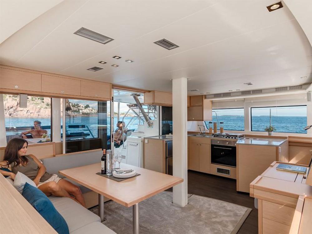 Boat rental Marina de Alimos cheap Lagoon 52 - 6 cabin verison