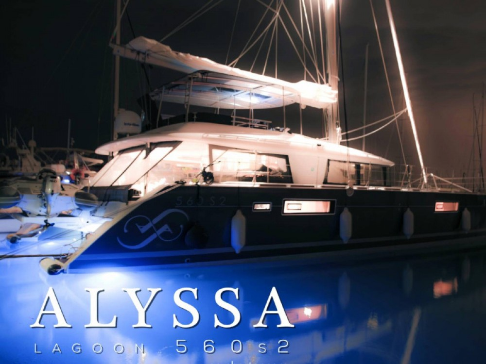 Rental yacht Alimos Marina - Lagoon Lagoon 560 S2 on SamBoat
