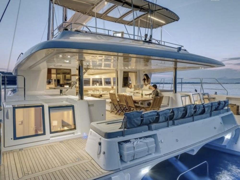Lagoon Lagoon 62 - 5 cabin version between personal and professional Marina de Alimos