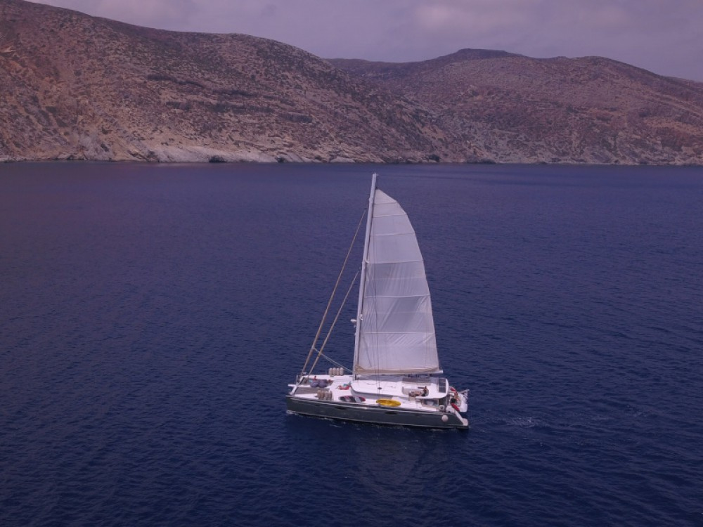 Rental Sailboat Fountaine Pajot with a permit