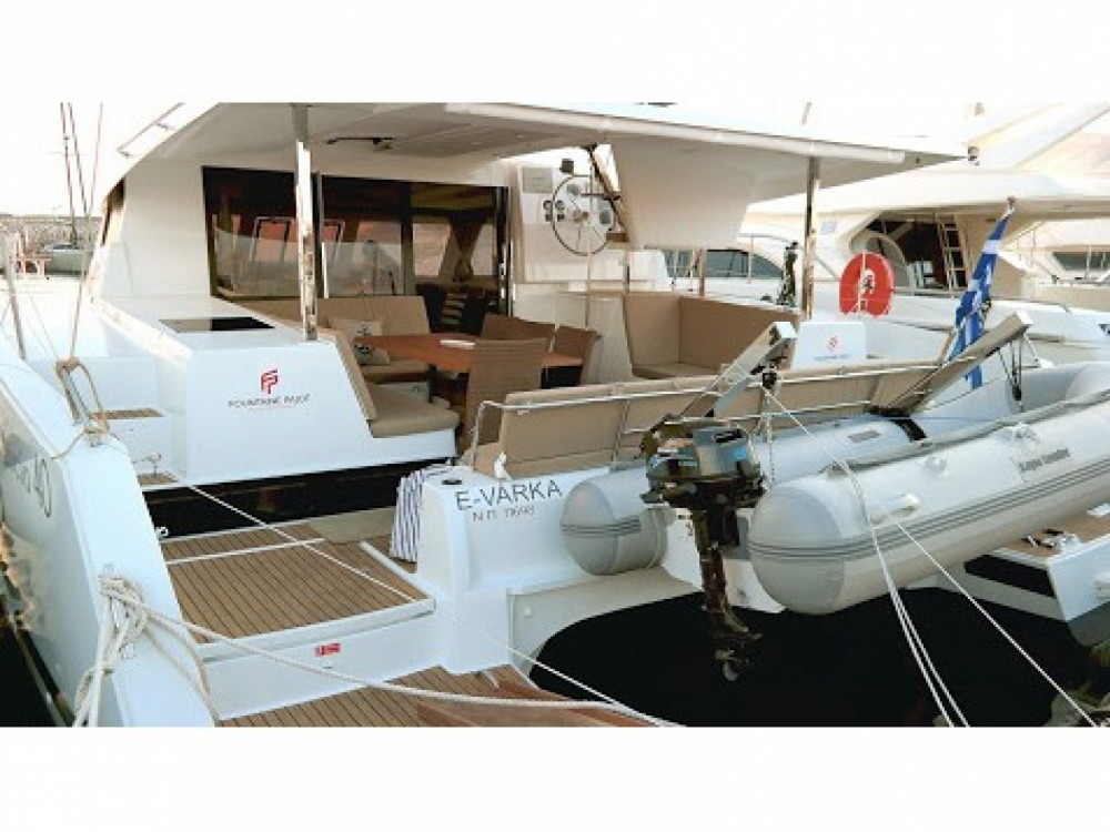 Rent a Fountaine Pajot Lucia 40 Greece