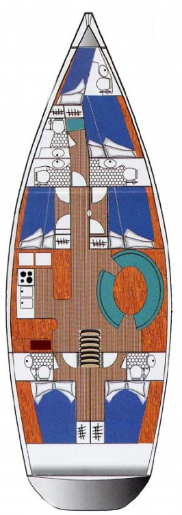 Hire Sailboat with or without skipper Ocean Lefkas