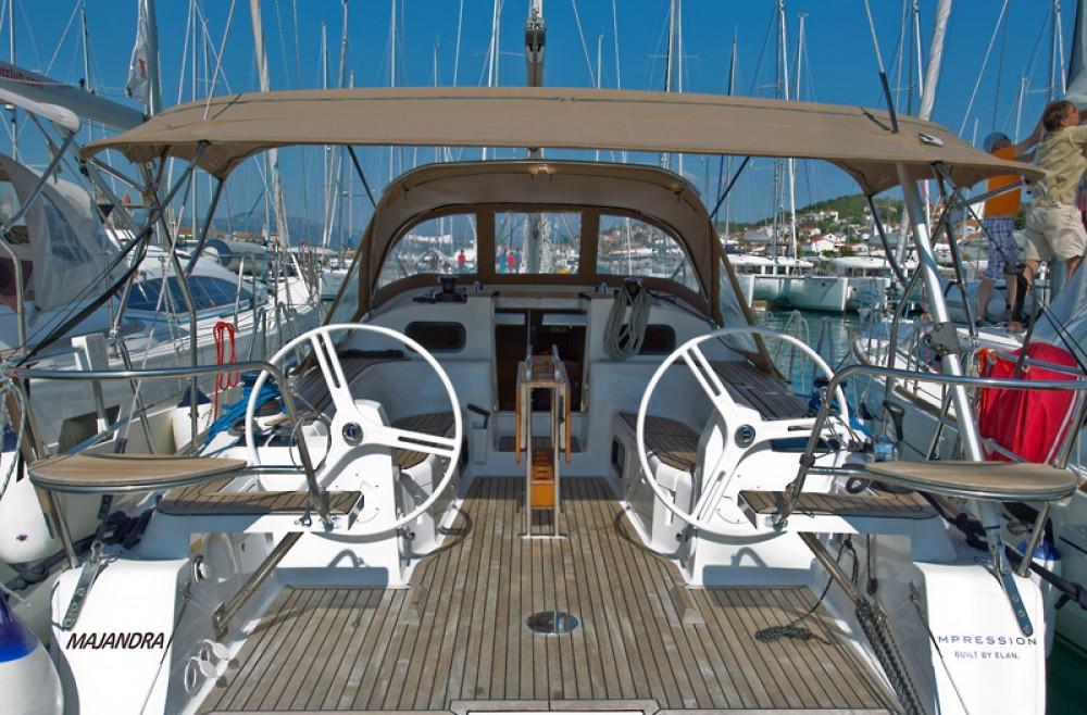 Rental yacht Traù - Elan Elan 40 impression on SamBoat
