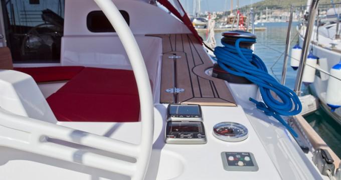 Location bateau Trogir pas cher Elan 45 impression
