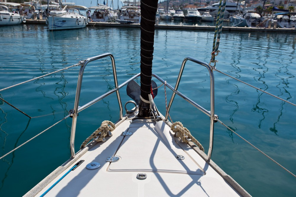 Boat rental Trogir cheap Salona 44