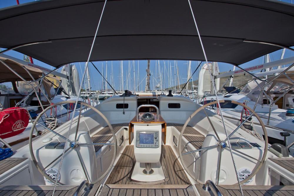 Bootsverleih Trogir günstig Elan 434 Impression