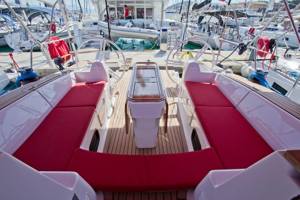 Boat rental Trogir cheap Elan 45 impression