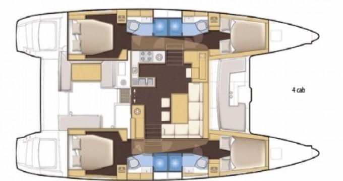 Rental Catamaran in Lungòni/Santa Teresa Gallura - Lagoon Lagoon 450 F
