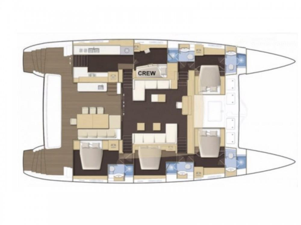 Louer Catamaran avec ou sans skipper Lagoon à Calliaqua