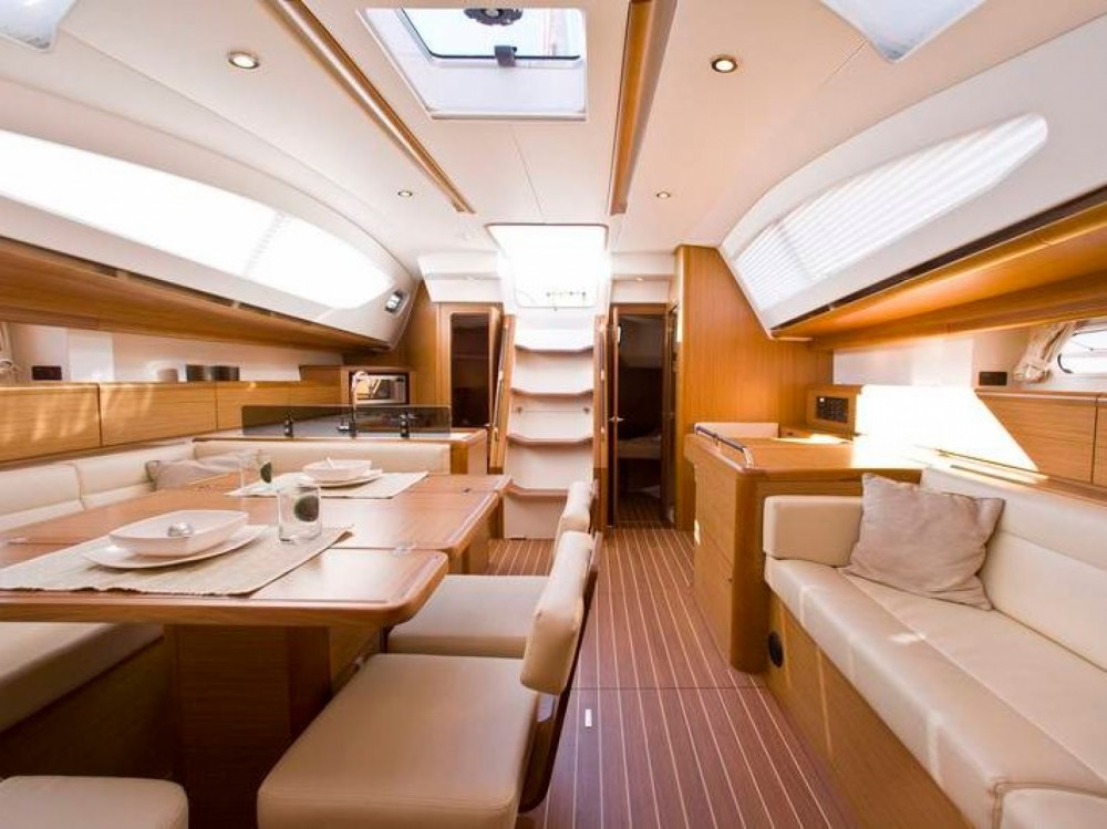 Jeanneau Sun Odyssey 50DS between personal and professional Marina de Alimos
