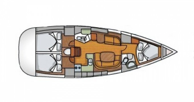 Rental yacht Kavala - Jeanneau Sun Odyssey 42 i on SamBoat