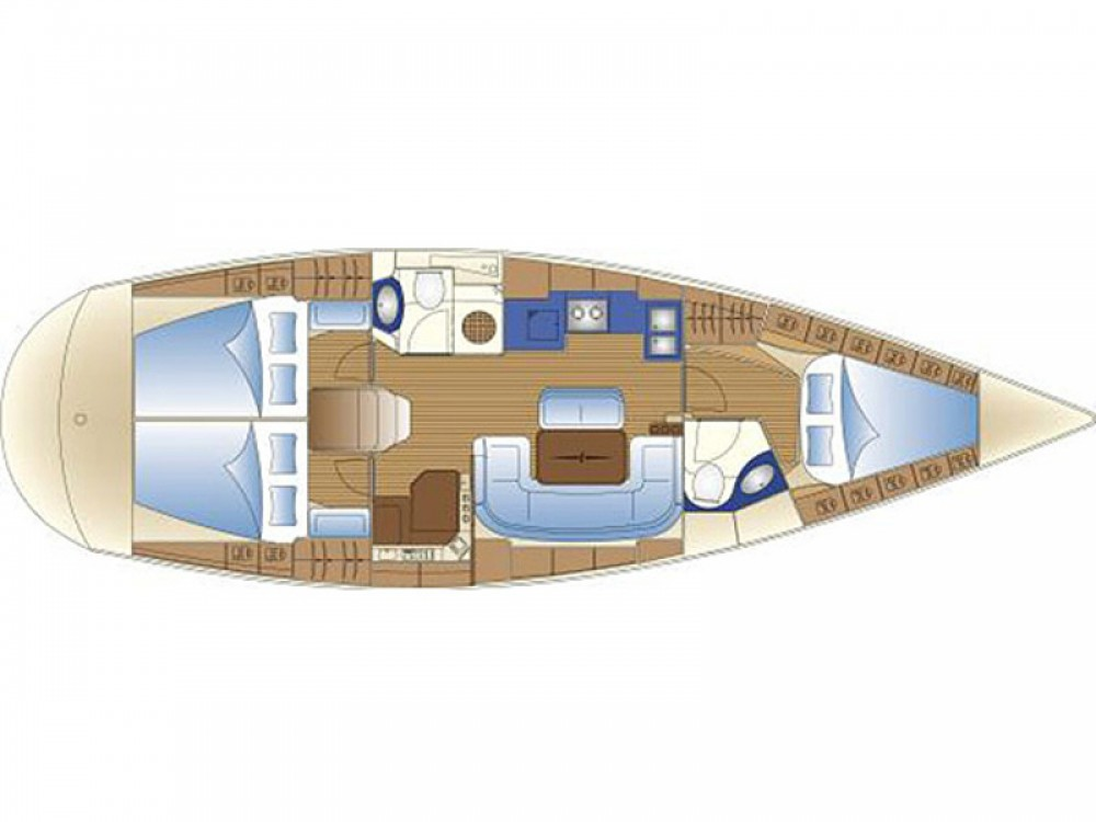 Rental yacht De Fryske Marren - Bavaria Bavaria 42 Cruiser on SamBoat