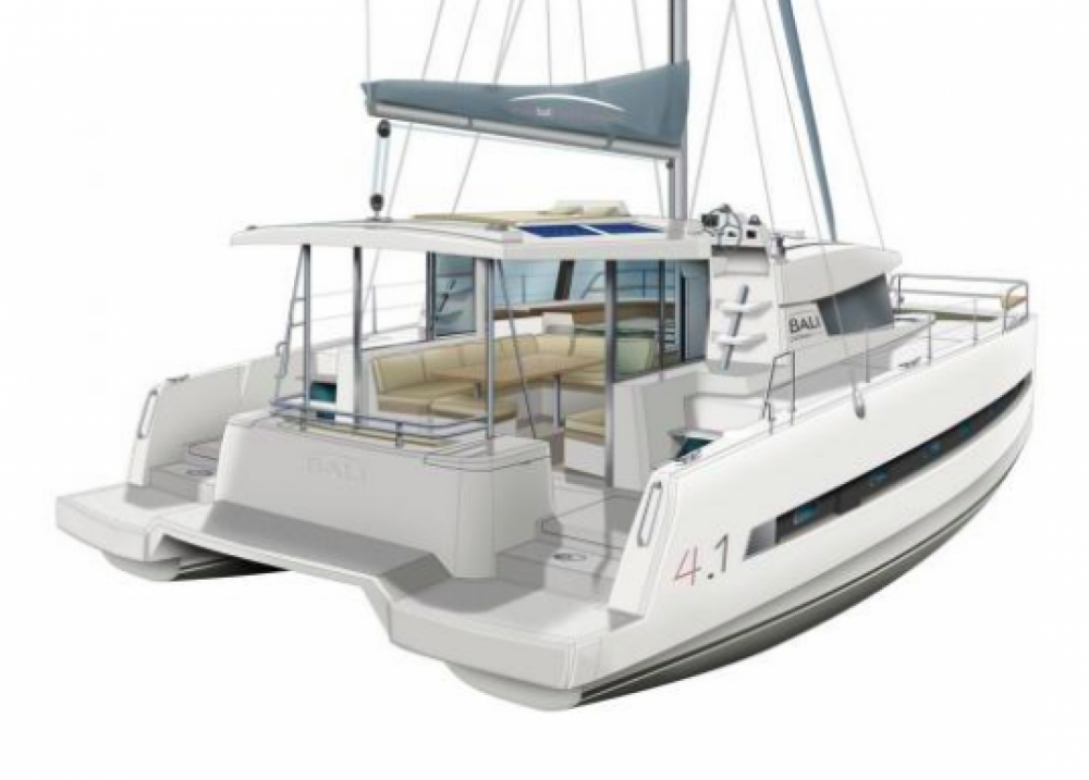 Rental Catamaran in Central Greece - Catana Bali 4.1 - 4 + 2 cab.