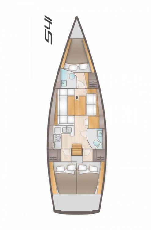 Boat rental Marina Kaštela cheap Salona 41