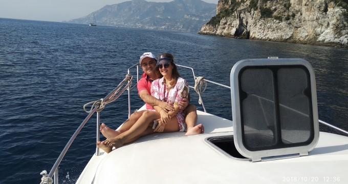 Rental yacht Positano - Atlantic Gobbi 25 cabin on SamBoat