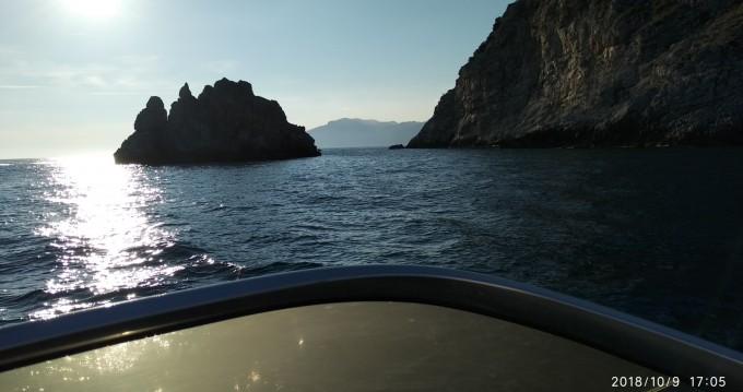 Atlantic Gobbi 25 cabin between personal and professional Positano