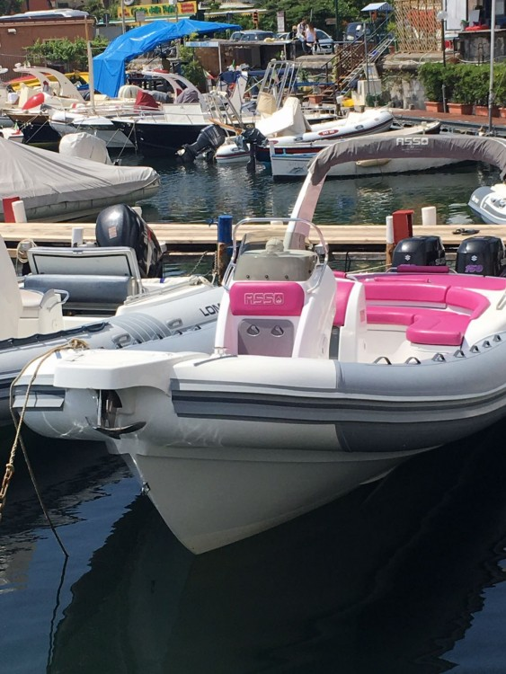 Rental RIB in Naples - Asso Charisma 8.7