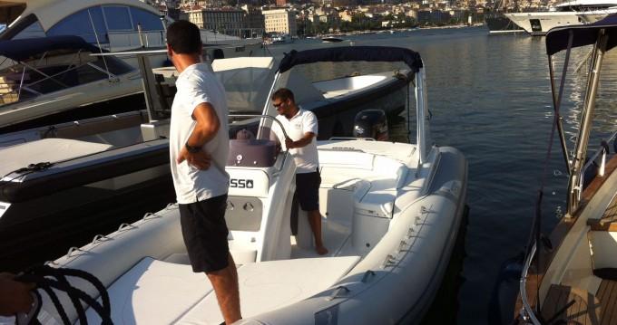 Noleggio Gommone con o senza skipper Asso Napoli