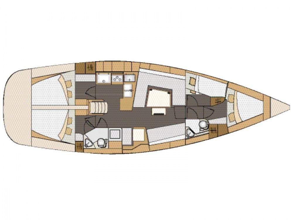 Rental Sailboat in Marina Zadar - Elan Elan 45 Impression - with AC
