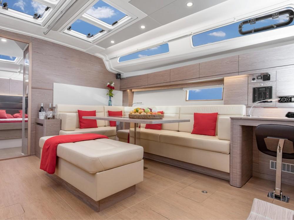 Boat rental Croatia cheap Hanse 508 - 5 + 1 cab.