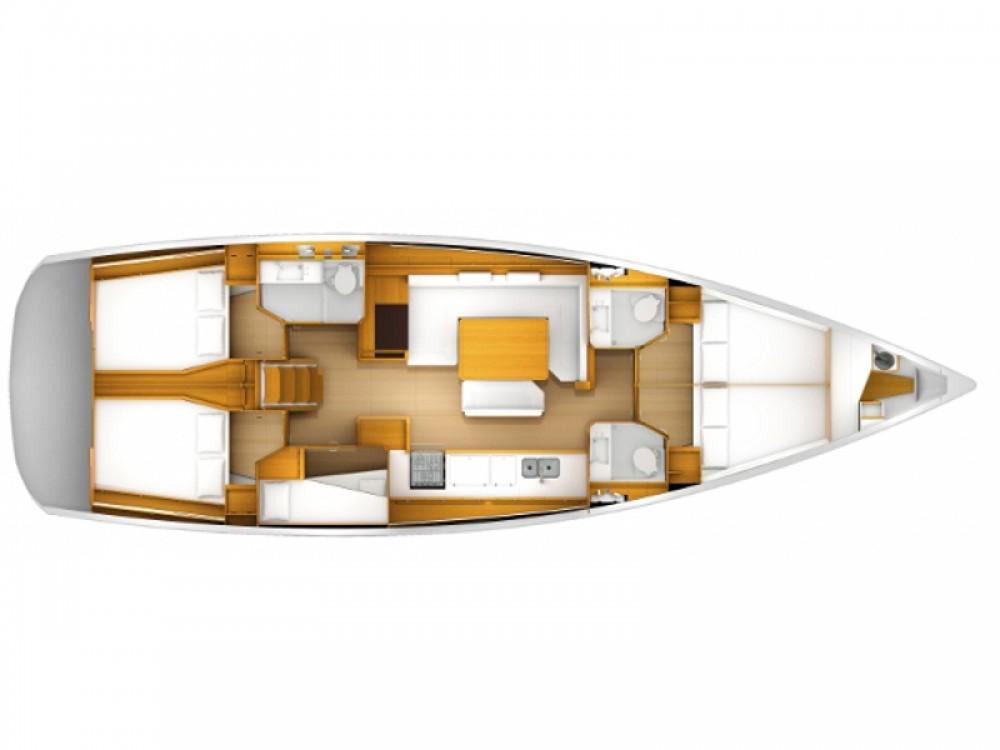 Jeanneau Sun Odyssey 509 between personal and professional Marina de Alimos