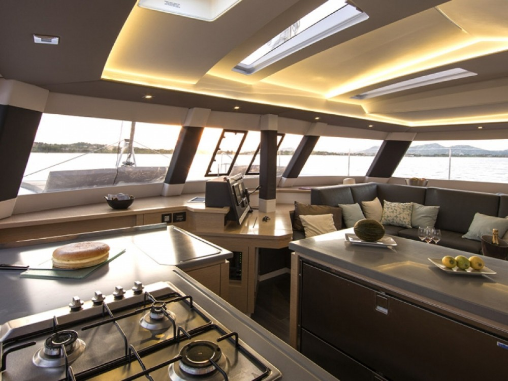 Hire Catamaran with or without skipper Fountaine Pajot Capo d'Orlando Marina