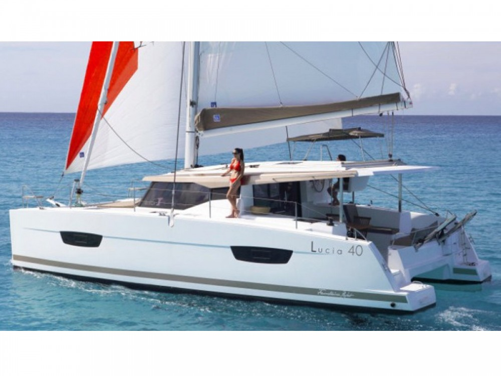 Fountaine Pajot Lucia 40 between personal and professional Capo d'Orlando Marina