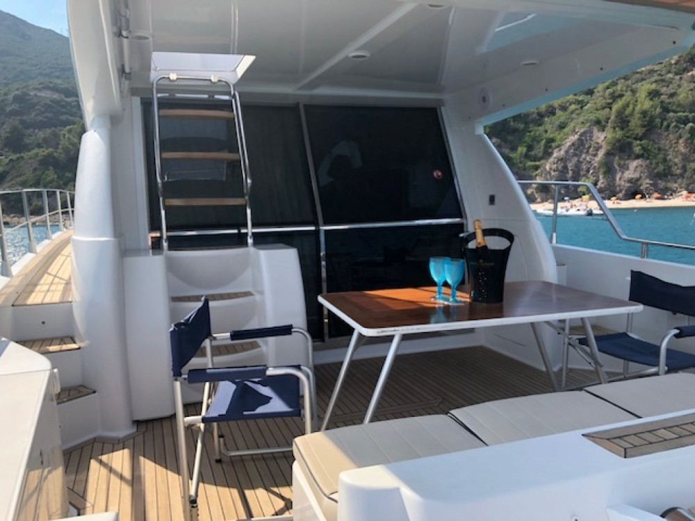 Boat rental Raffaelli Maestrale 52  in Marina Cala Galera on Samboat