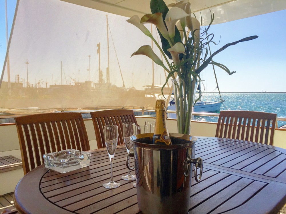 Yacht for rent Marina di Portisco at the best price