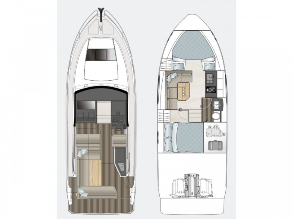 Boat rental Sealine Sealine S330 in Pula on Samboat