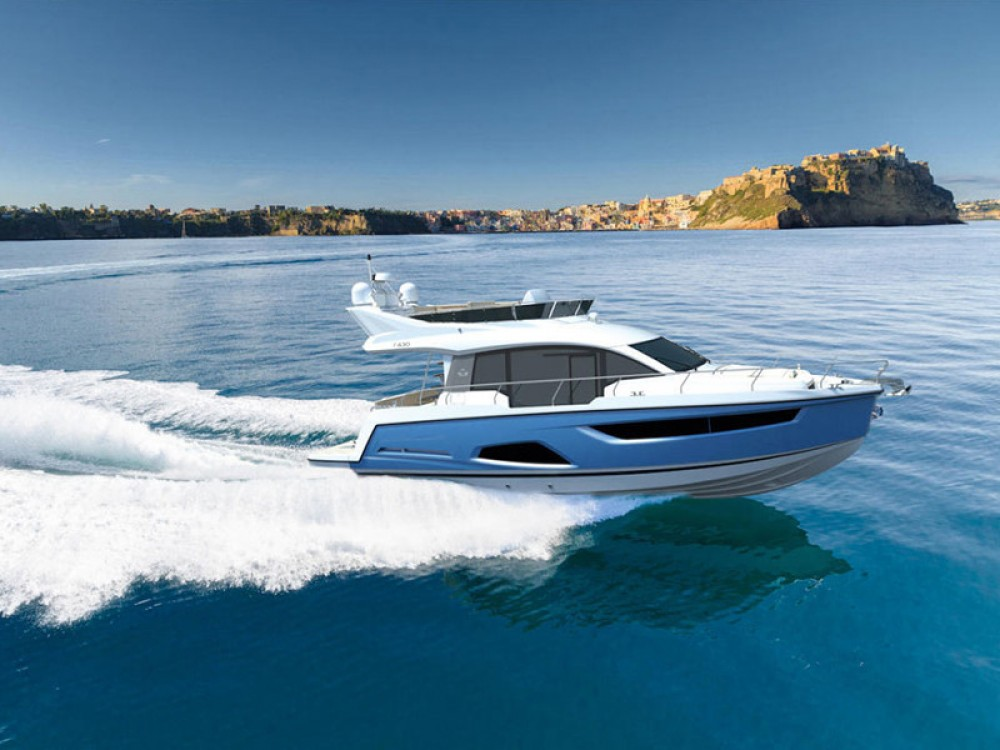 Boat rental Pula cheap Sealine F430