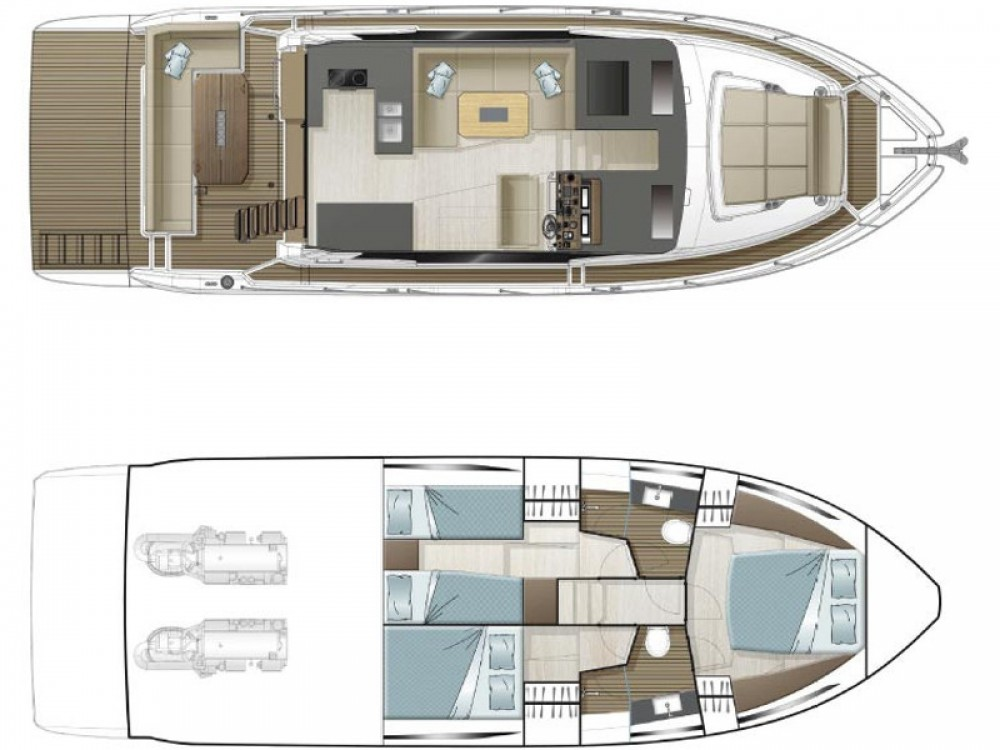 Sealine Sealine F430 between personal and professional Pula