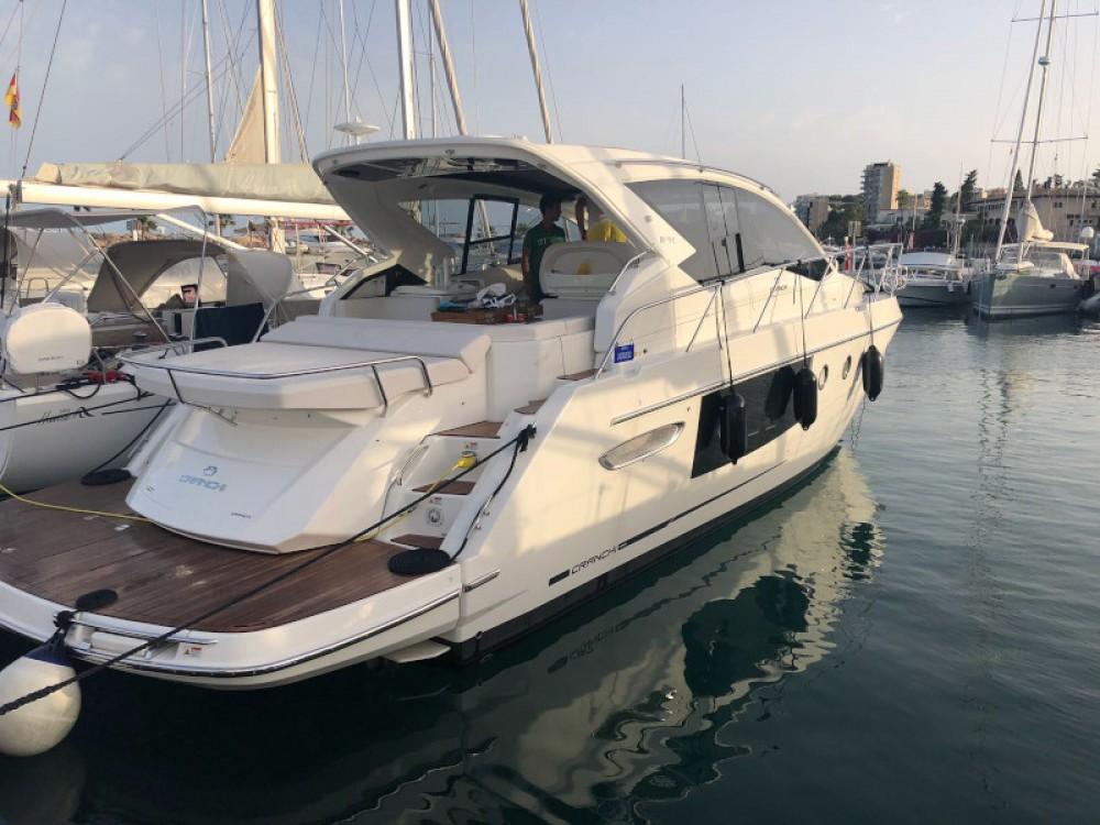 Boat rental Palma cheap Cranchi M44 HT