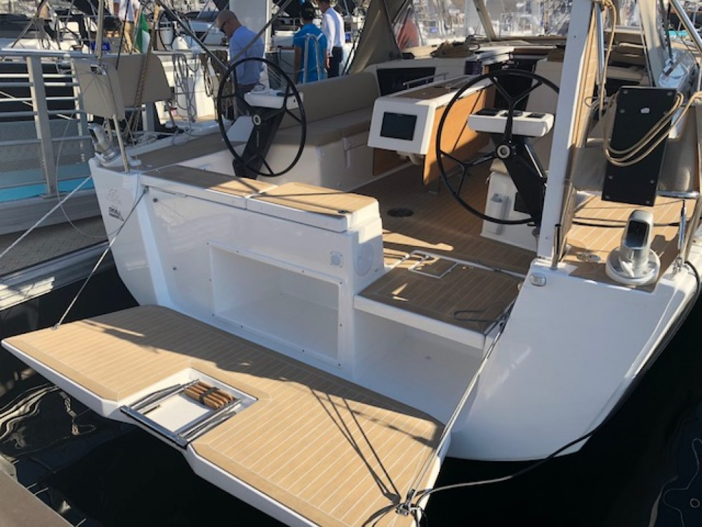 Dufour Grand Large 390 between personal and professional Cagliari