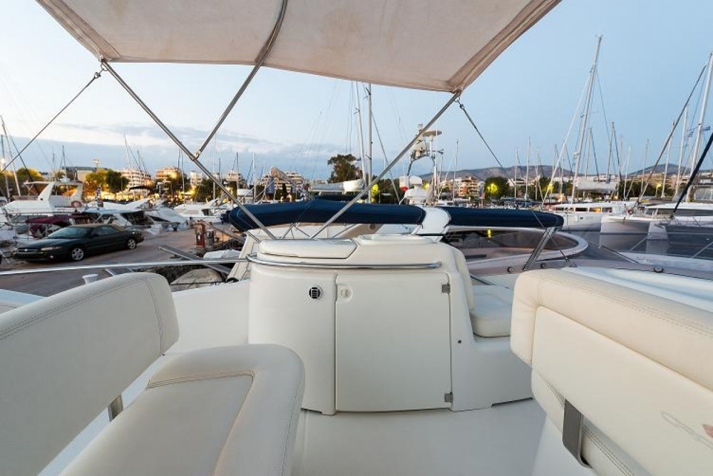 Boat rental Athens cheap Atlantique 40 Fly