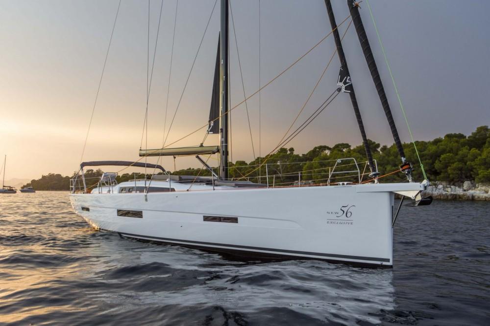 Boat rental Trogir cheap Dufour Exclusive 56 - 5 + 1 cab.