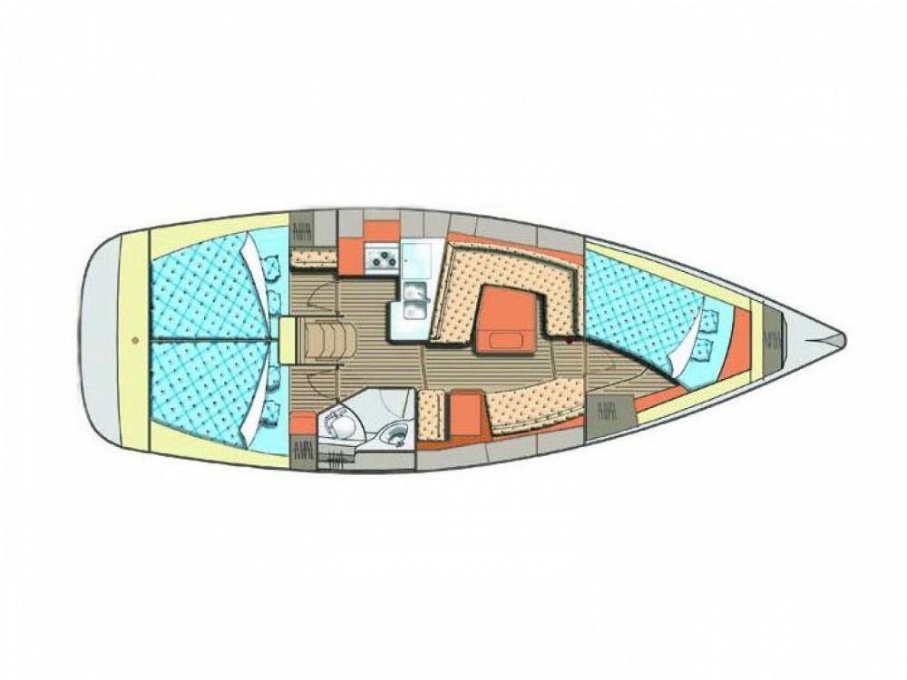 Boat rental Elan Elan 384 Impression in Baška Voda on Samboat