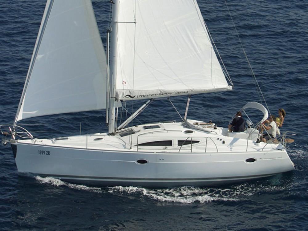 Rental yacht Baška Voda - Elan Elan 384 Impression on SamBoat