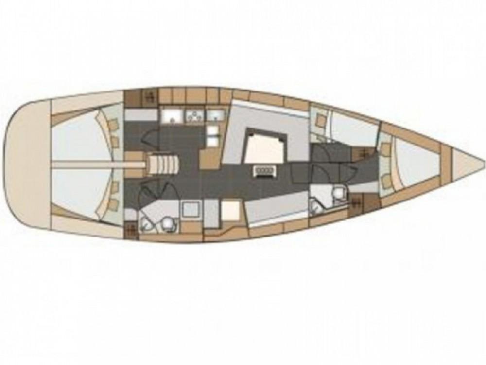 Boat rental Elan Elan 45 impression in Baška Voda on Samboat