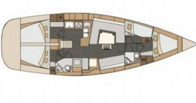 Location bateau Elan Elan 45 impression à Marina Ramova sur Samboat