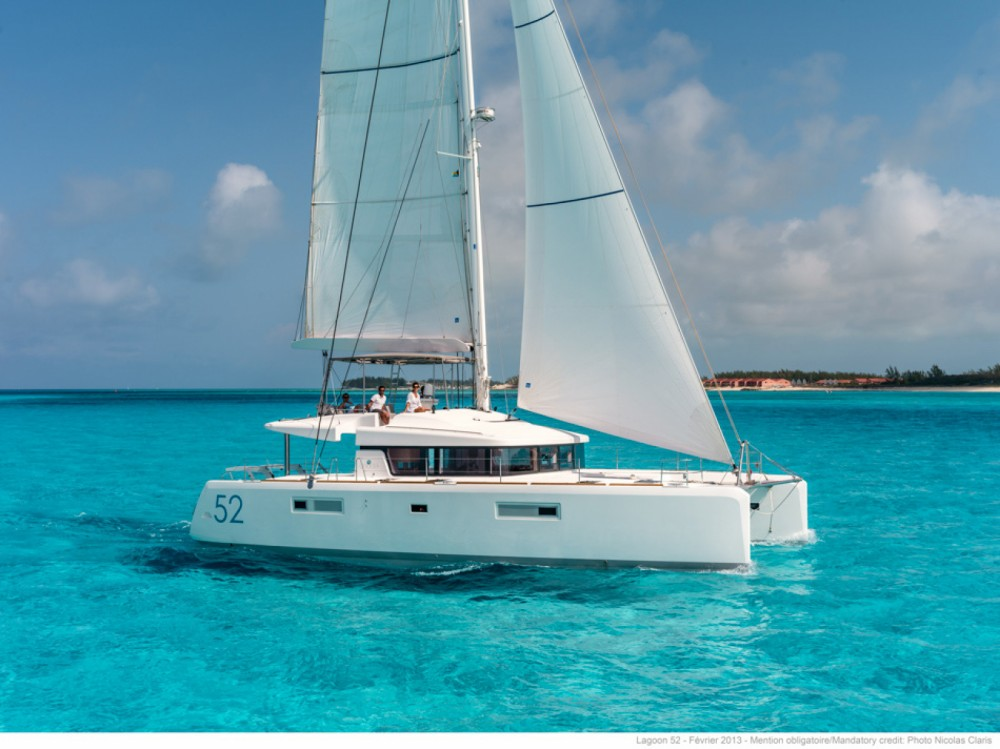 Hire Catamaran with or without skipper Lagoon Greece