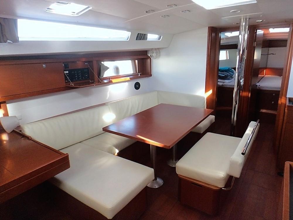 Rental Sailboat in Greece - Bénéteau Oceanis 48