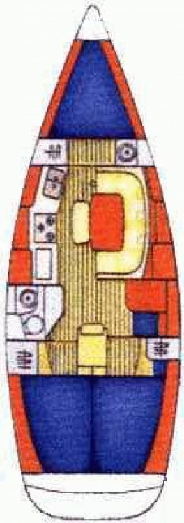Rent a Jeanneau Sun Odyssey 36.2 Marina Zadar