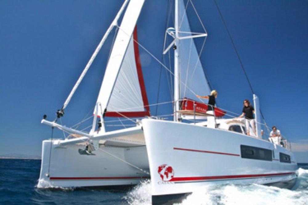 Location bateau Pointe-à-Pitre pas cher Catana 42